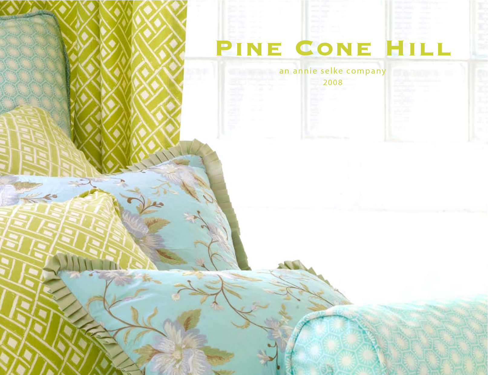 Lovely Pine Cone Hill Bedding For Interesting Bed Ideas: Awesome Pine Cone Hill Bedding In Blue Green Theme With Floral Pattern For Bed Ideas