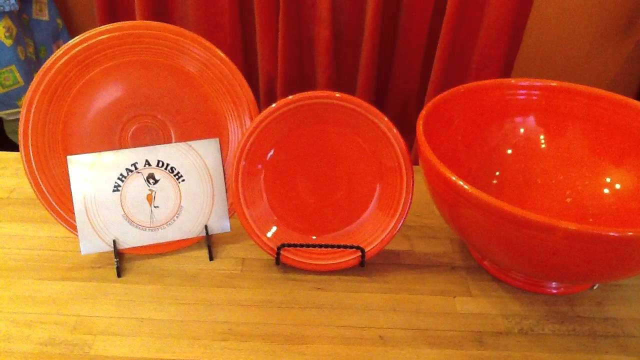 Awesome Plate And Saucer Plus Bowl In Orange By Fiestaware For Dinnerware Ideas