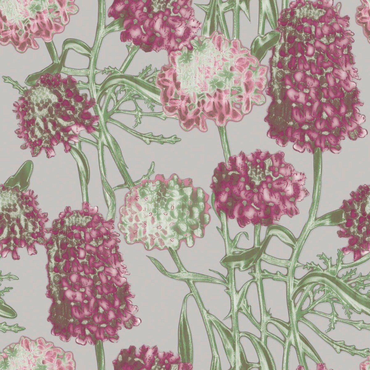 awesome tempaper wallpaper in cute floral pattern for chic wall decor ideas