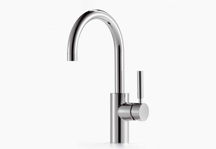 beautiful grohe faucets in silver with single handle for kitchen furniture ideas