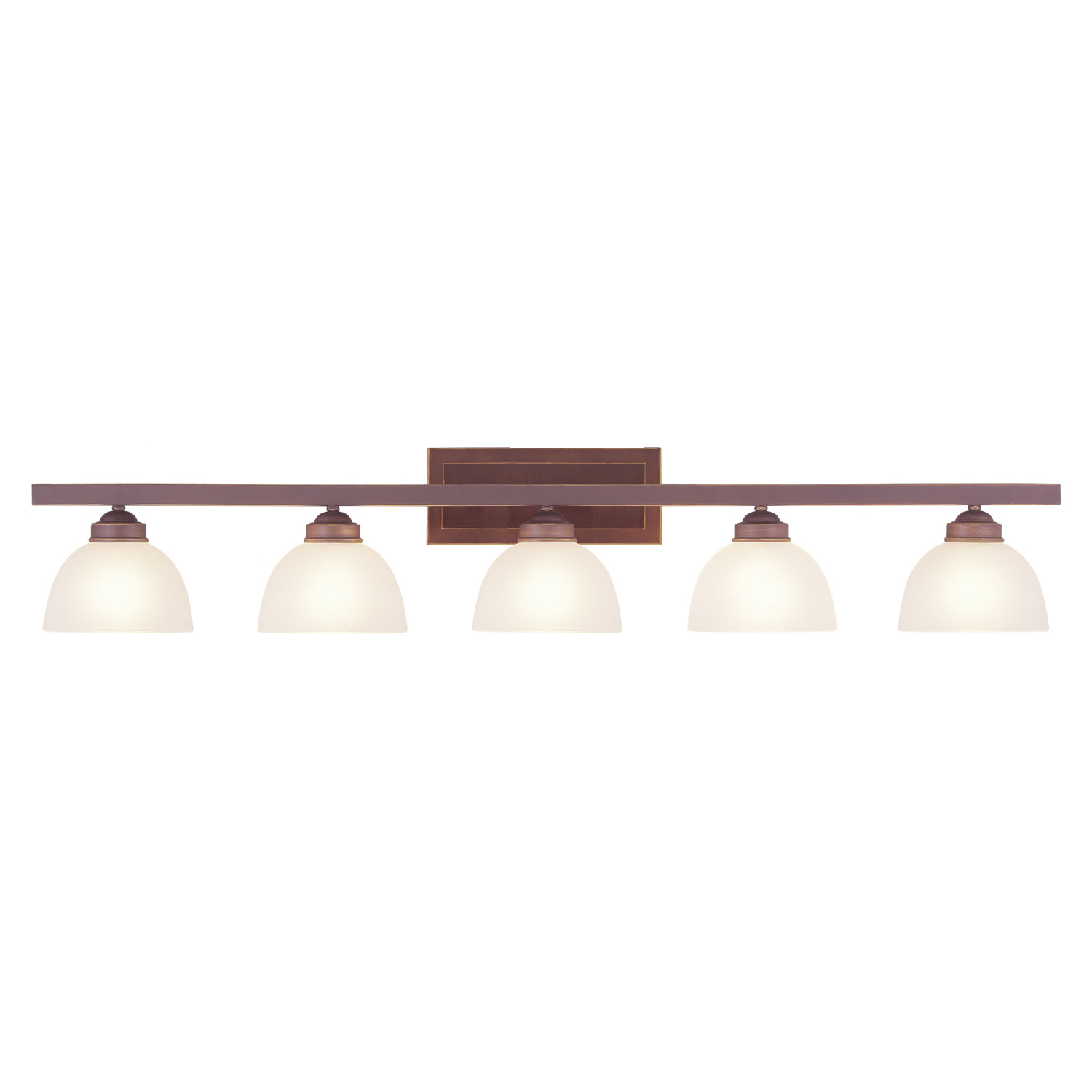 Beautiful Livex Lighting Somerset 5 Light Bath Vanity Light For Bathroom Lighting Ideas
