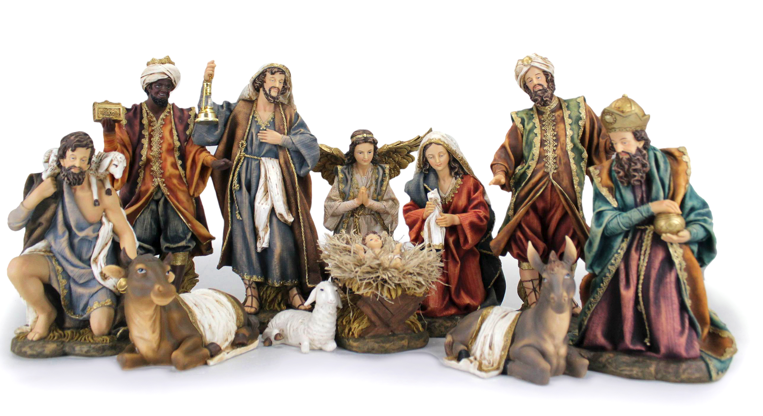 beautiful nativity sets set 13 inch for christmas decoration ideas