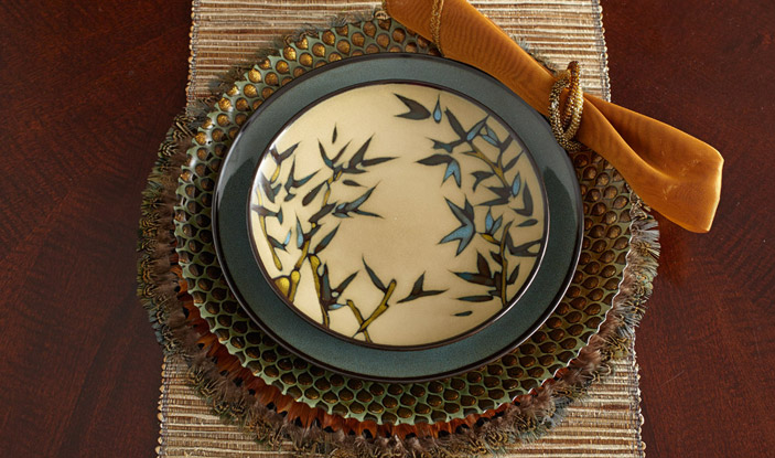 Beautiful Plate In Cute Patten By Pfaltzgraff For Lovely Dinnerware Ideas