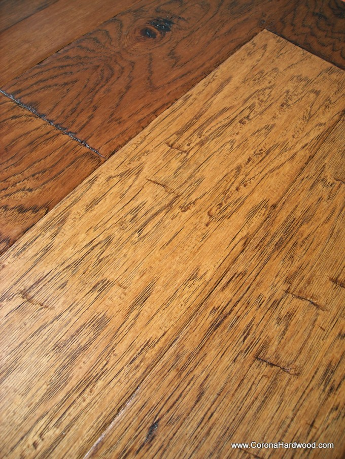 Bruce Hardwood Floors In GOLDEN BROWN HICKORY For Chic Flooring Ideas