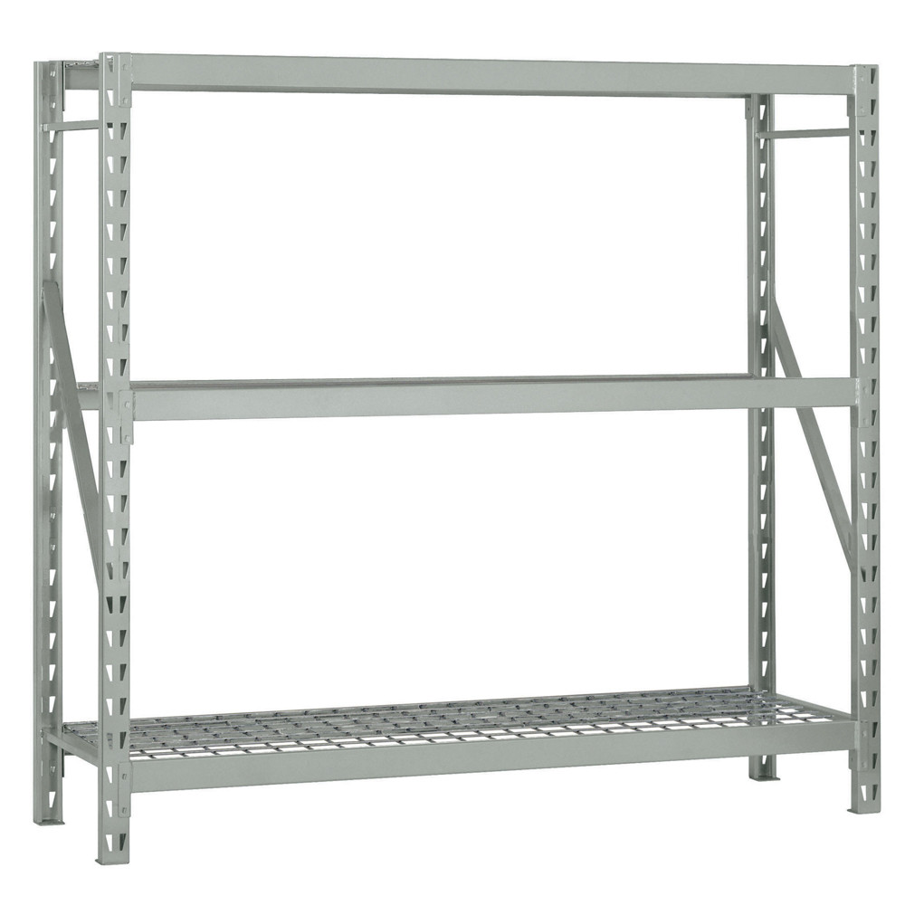 Bulk Storage Rack 3 Shelf Shelving Unit in gray by Edsal Shelving for garage furniture ideas