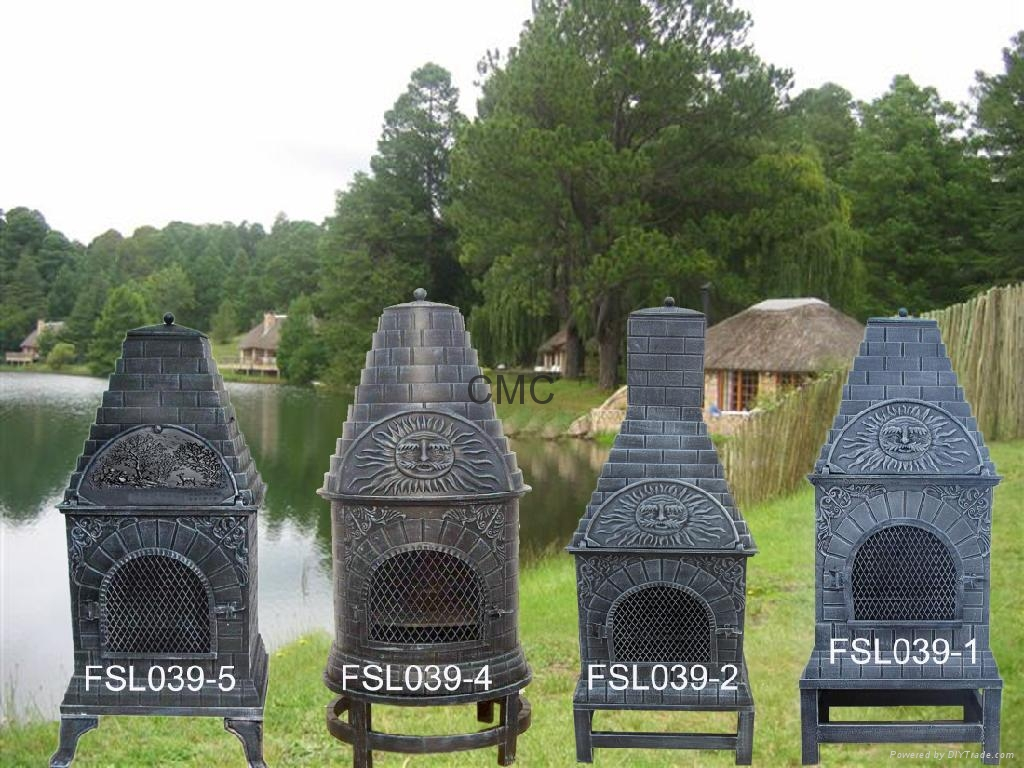 Cast Iron Chiminea Collections For Outdoor Furniture Ideas