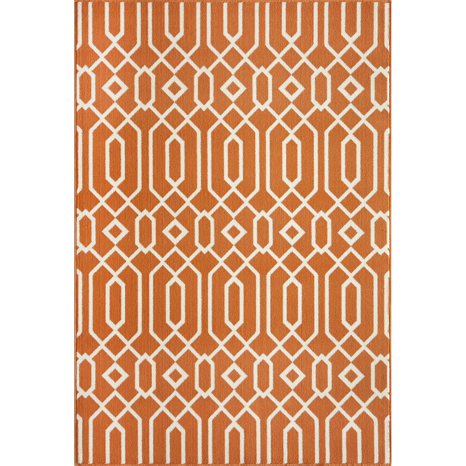 charming baja orange momeni rugs for floor decor ideas