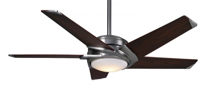 Charming Casablanca Ceiling Fans In Five Brown Wooden Blade Slinger And Single Light For Ceiling Furniture Ideas