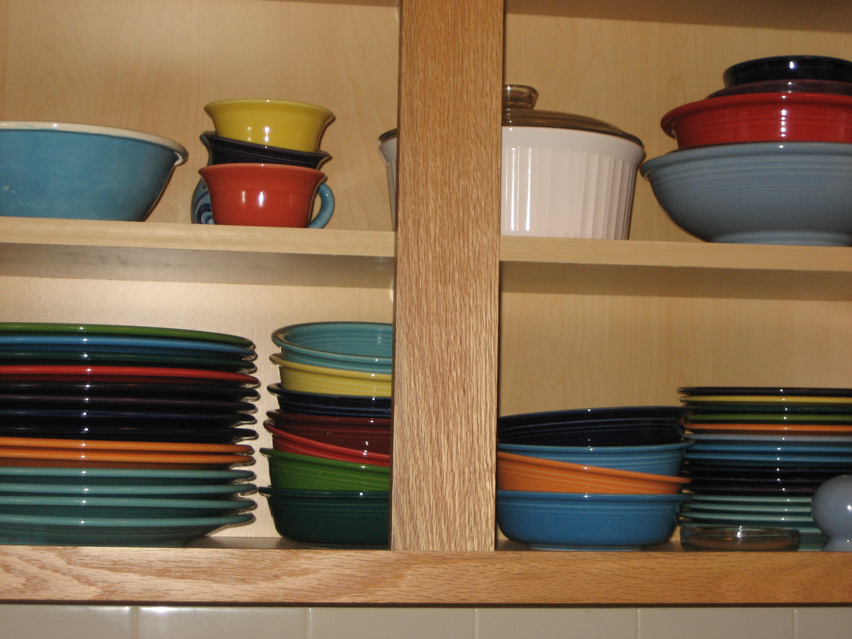 charming collections of bowl and plate by fiestaware for diningware ideas