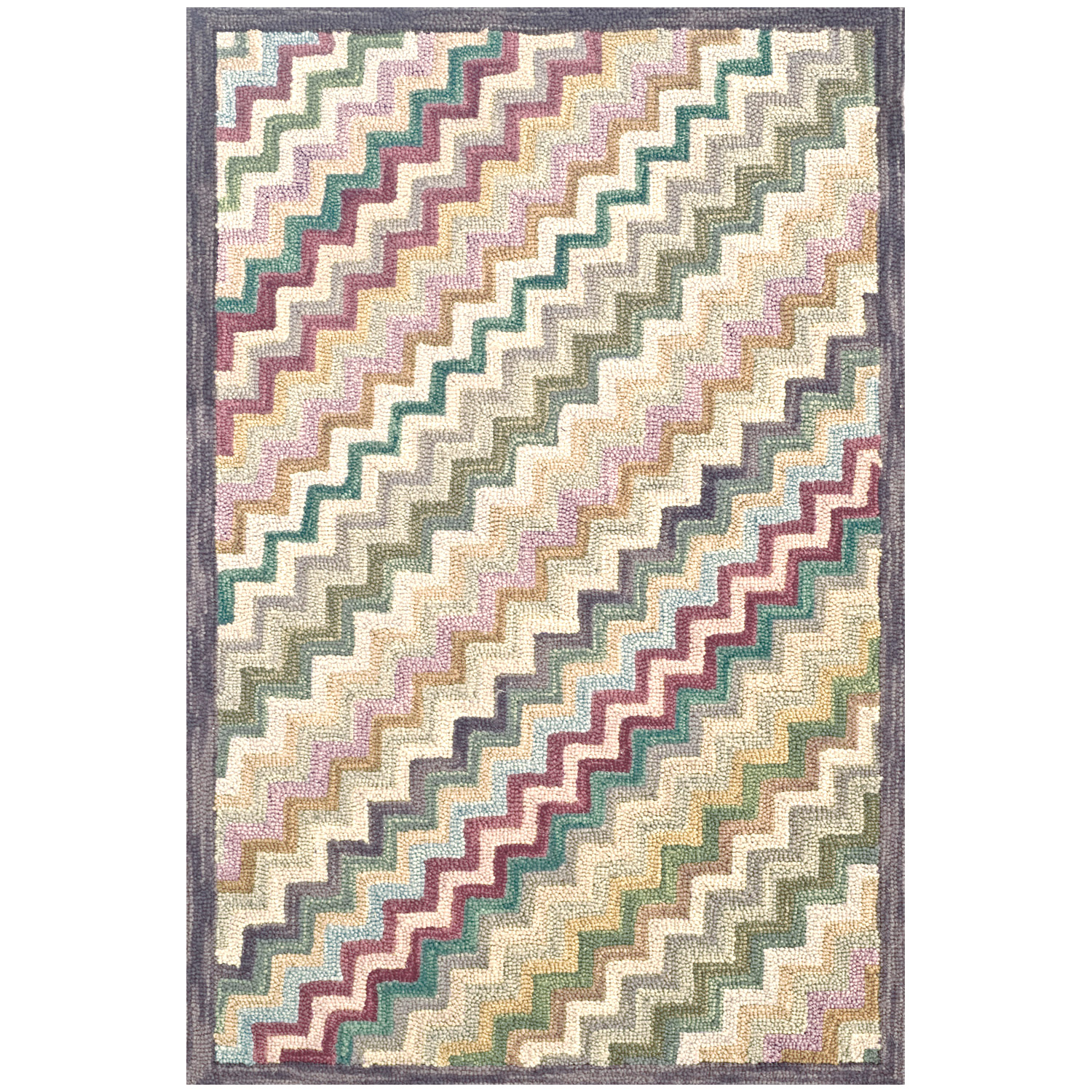 charming colorful Dash And Albert Rugs with zigzag pattern floor decor ideas