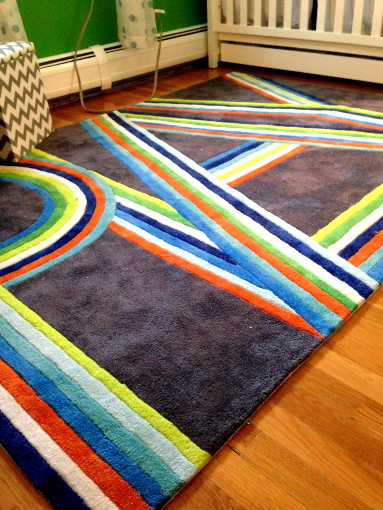 Charming Colorful Momeni Rugs On Wooden Floor For Living Room Decor Ideas
