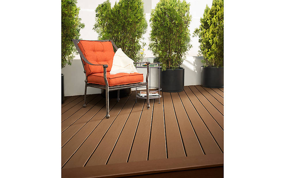 charming DECKING IN BEACH DUNE AND SADDLE for standard trex decking cost