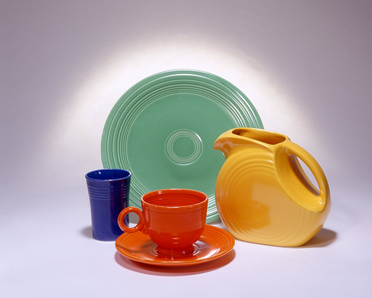 charming dinnerware set by fiestaware for kitchen furniture ideas