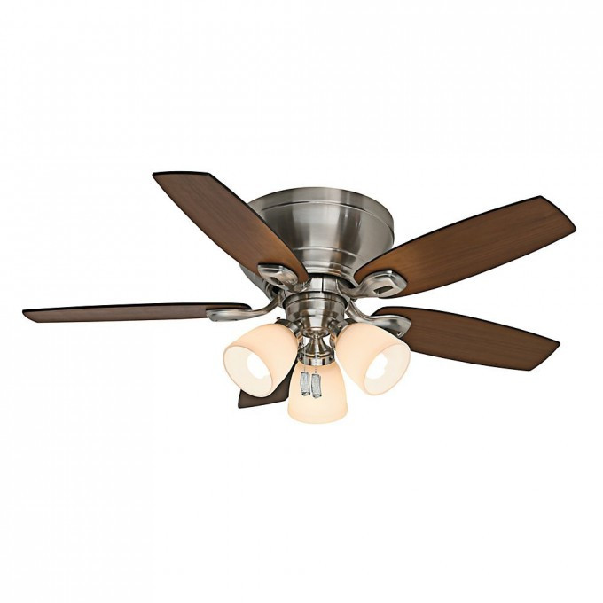 Charming Fan Company 54101 Durant 54 Inch Brushed Nickel Ceiling By Casablanca Ceiling Fans For Chic Ceiling Decor Ideas