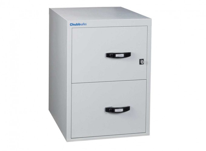Charming Fireproof File Cabinet In White With Black Handle For Data Safety Ideas