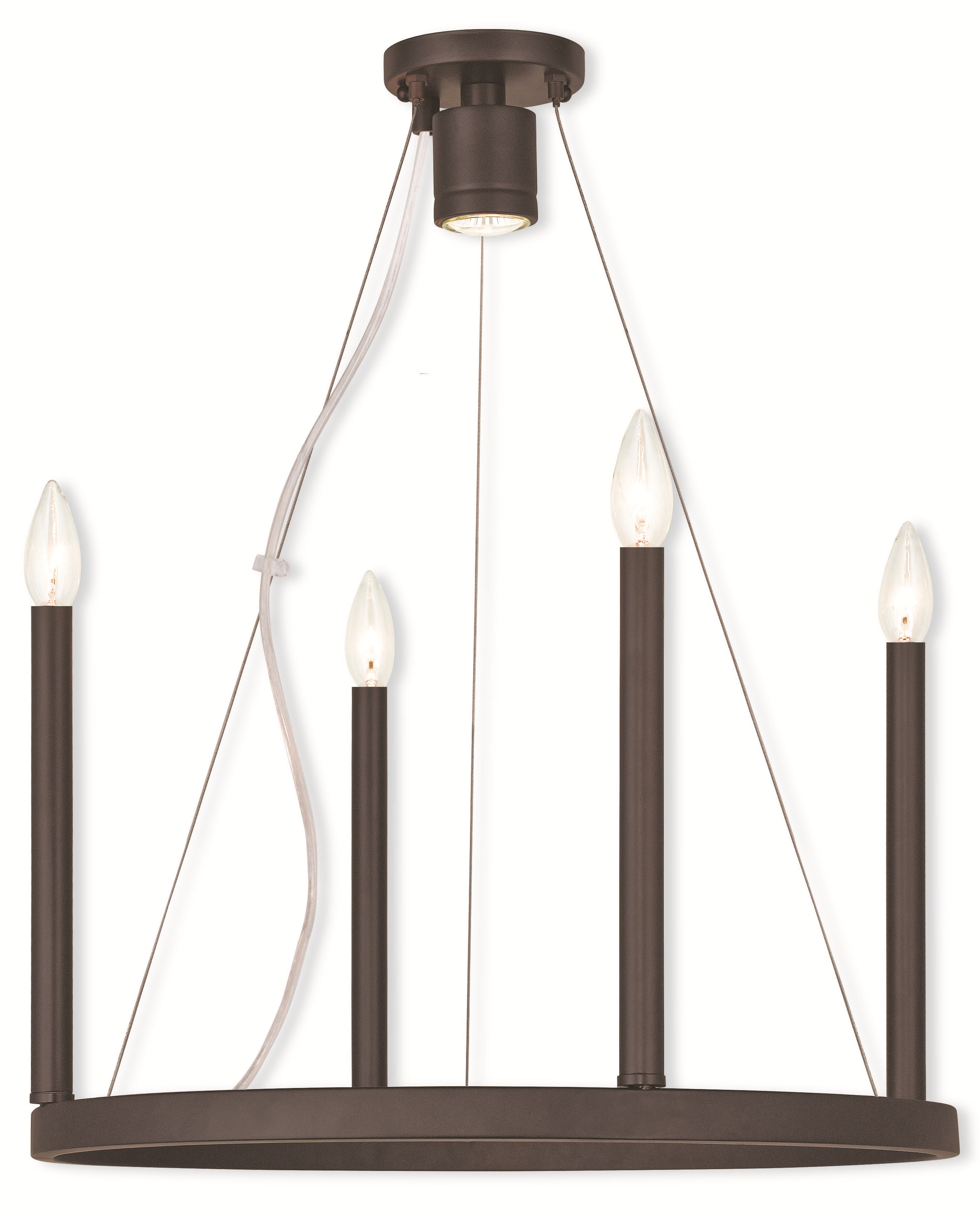 charming Livex Lighting 40244 07 Chandelier from the alpine collection for home lighting ideas