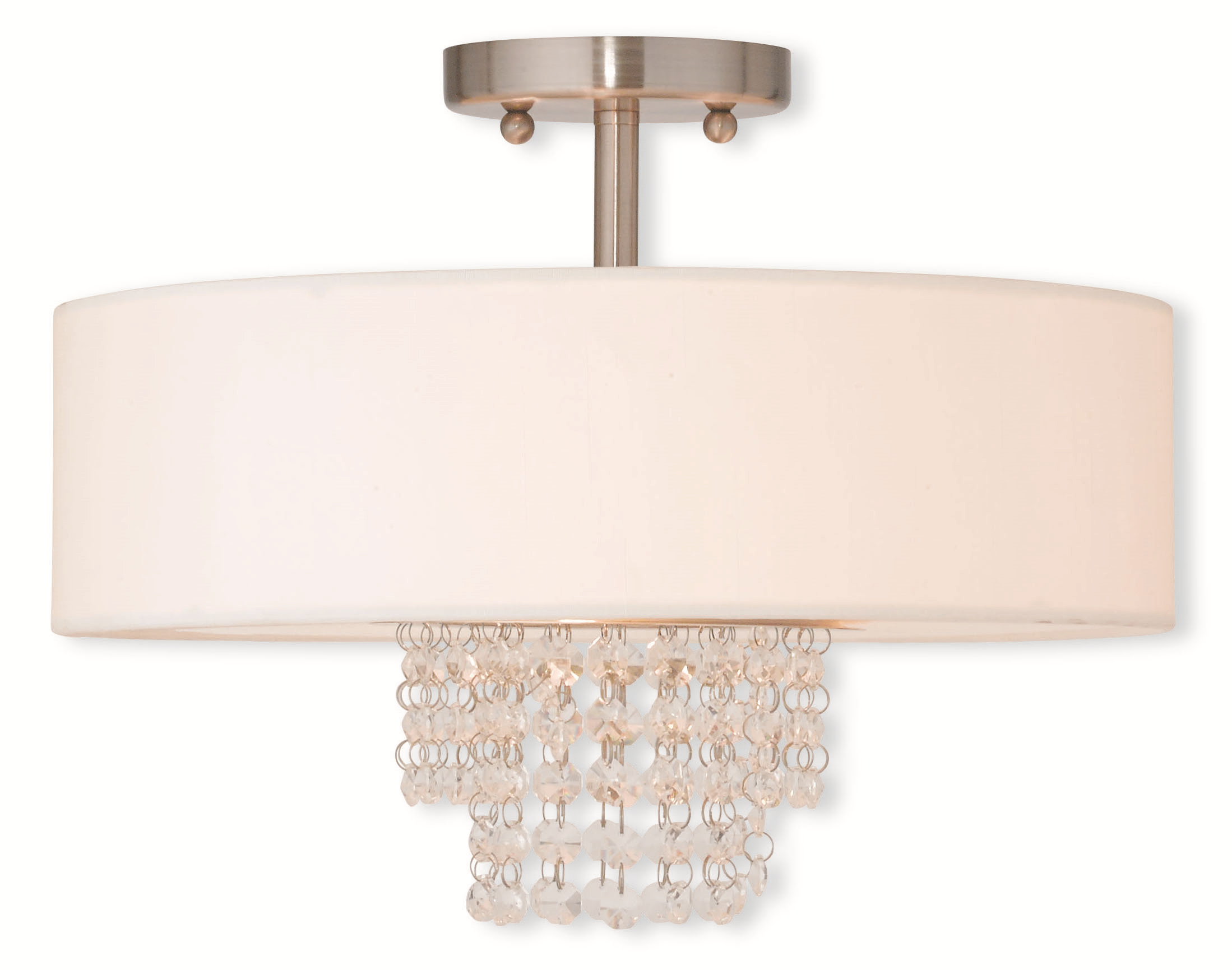Charming Livex Lighting 51027 91 Flush Mount From The Carlisle Collection For Home Lighting Ideas
