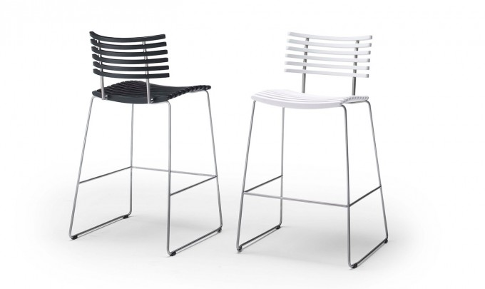 Charming Modern Cymax Bar Stools With Plastic Seat And Back Plus Metal Legs For Home Furniture Ideas