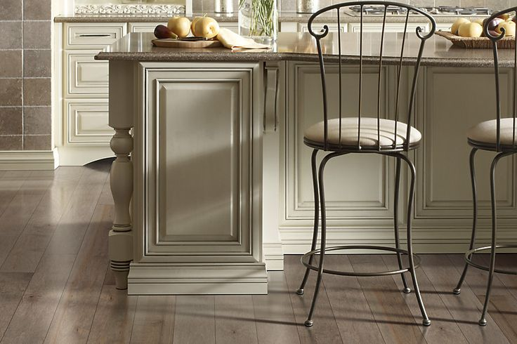 charming Mohawk Flooring plus kitchen island and counter stools for kitchen decor ideas