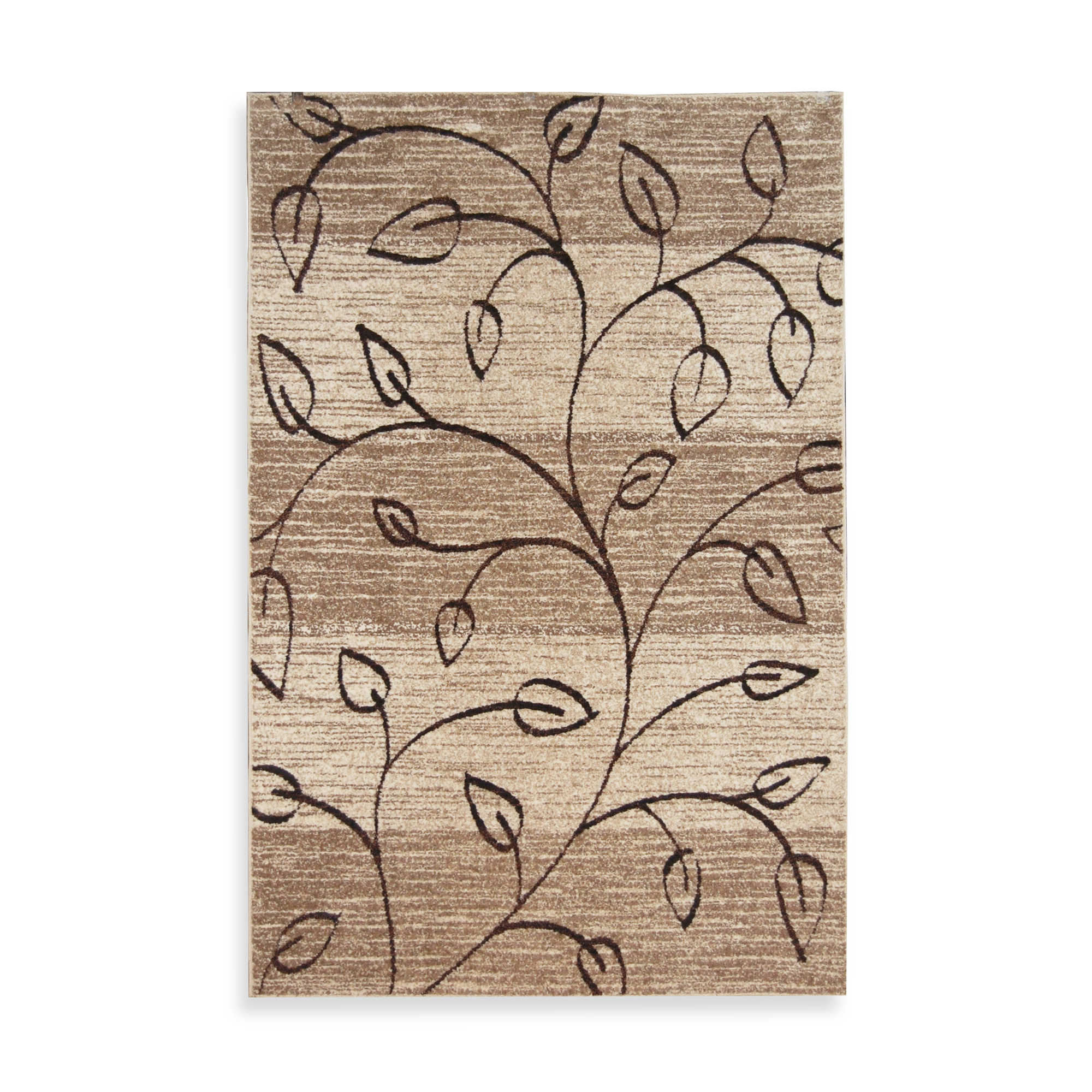 charming Orian Rugs Stone 5 with leaves pattern for floor decor ideas