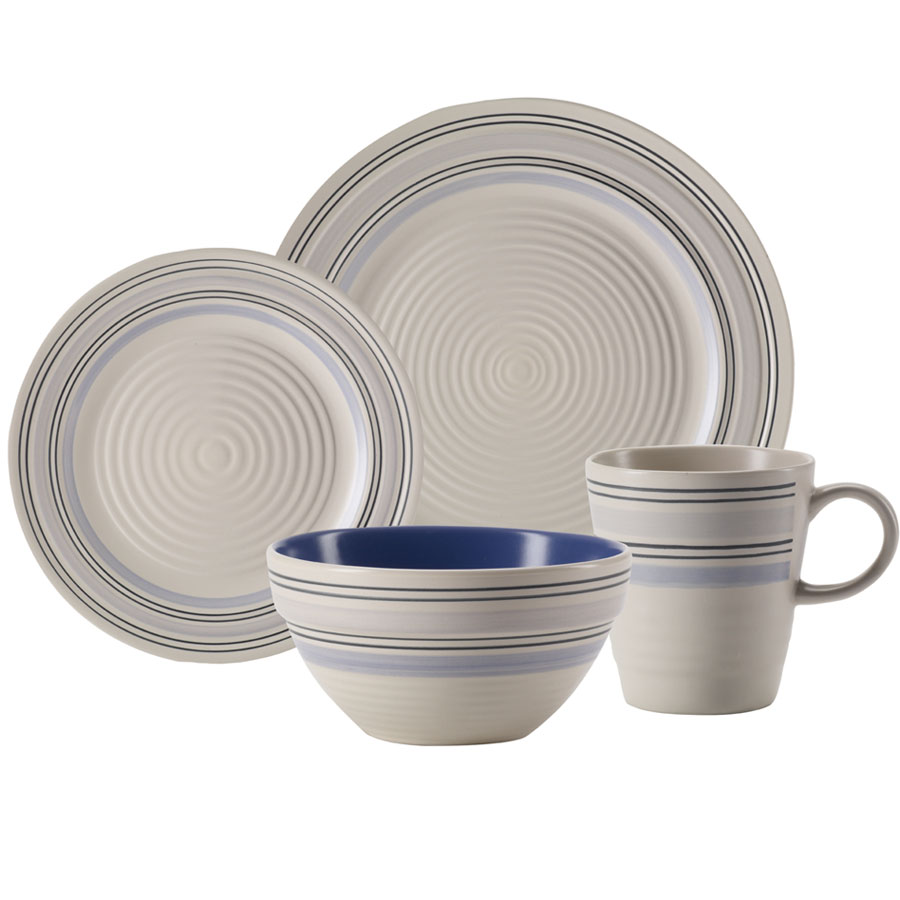 charming Pfaltzgraff Rio Swirl Blue Dinnerware for dinnerware ideas