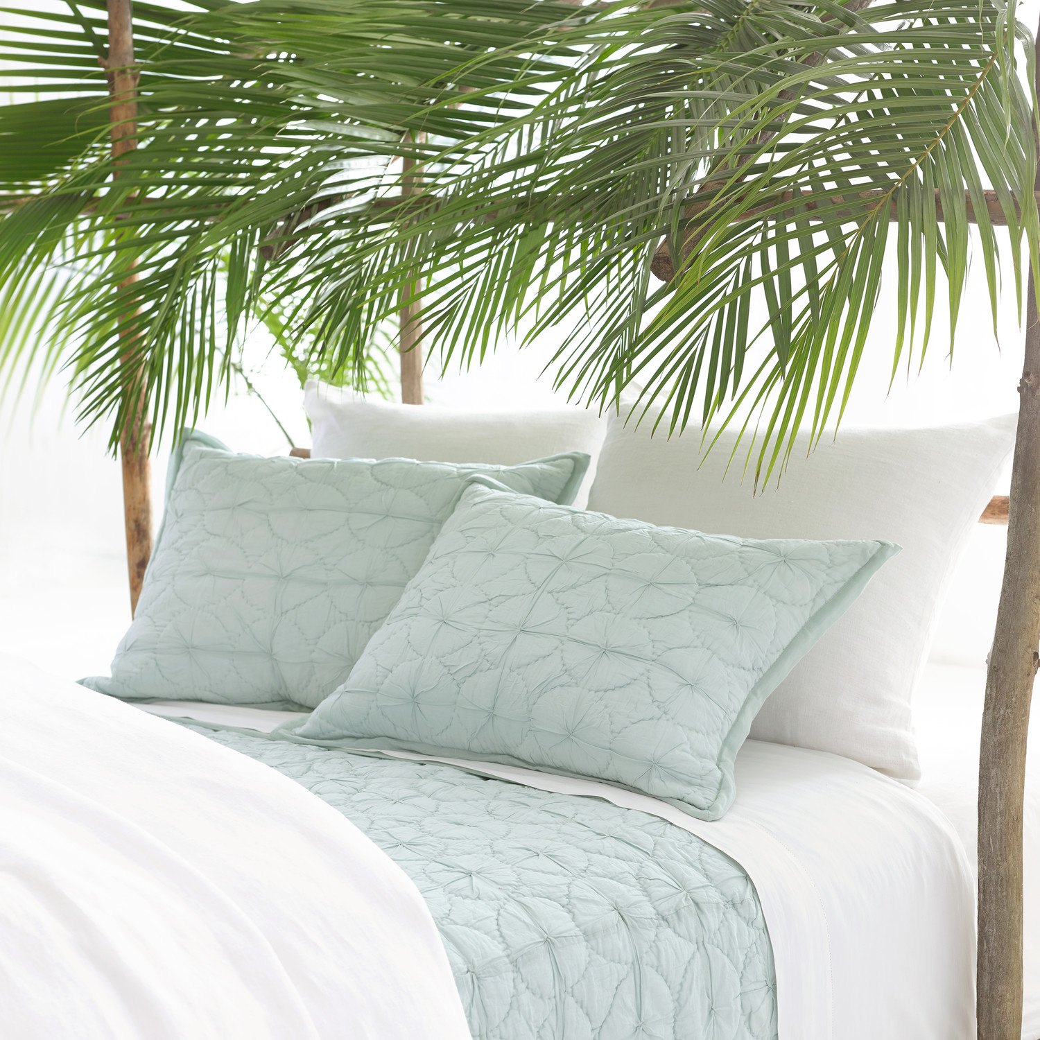 charming pine cone hill bedding in white and olive for bed ideas