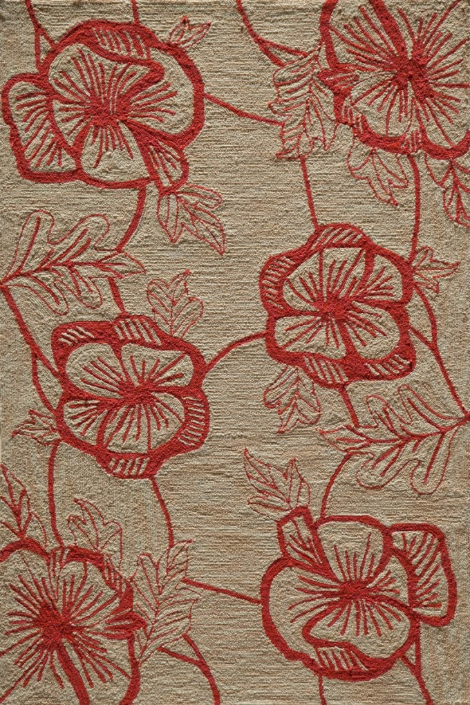 Charming Rugs Summit SUM10 Coral Rug In Ivory And Red By Momeni Rugs For Floor Decor Ideas