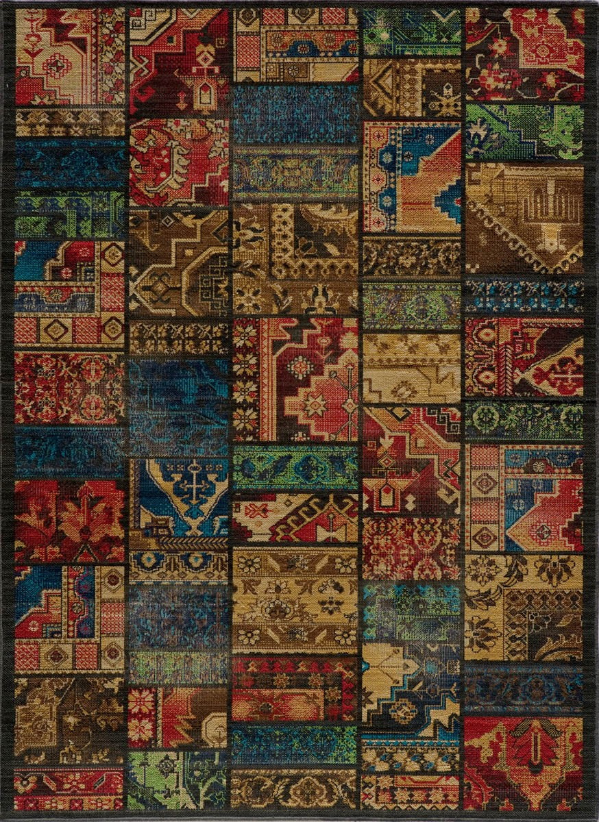 Have A Cool Floor With Momeni Rugs Ideas: Charming Rugs Vintage VIN12 Multi Rug By Momeni Rugs For Floor Decor Ideas