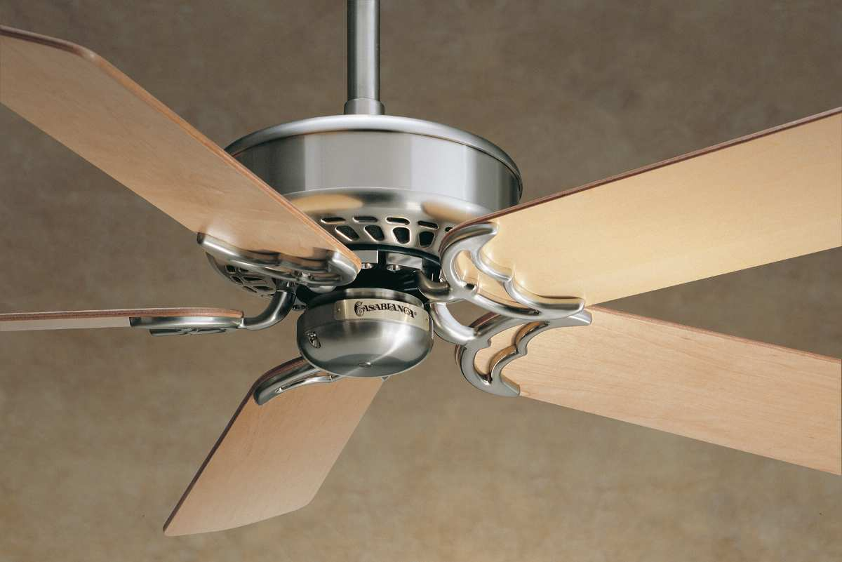 Charming Ventura casablanca ceiling fans 6745T in Brushed Nickel for ceiling decor ideas