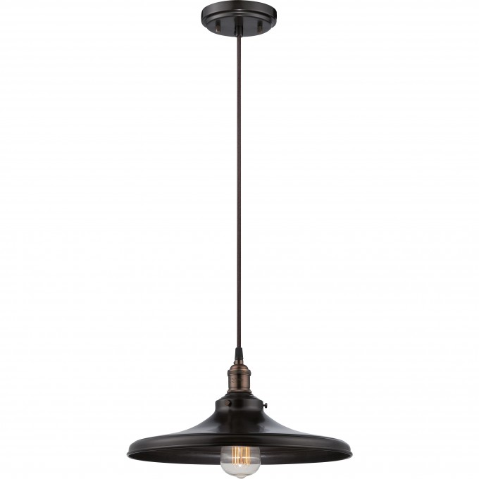 Chic 1 Light Pendant Lighting Fixture And Vintage Light By Nuvo Lighting For Home Lighting Ideas