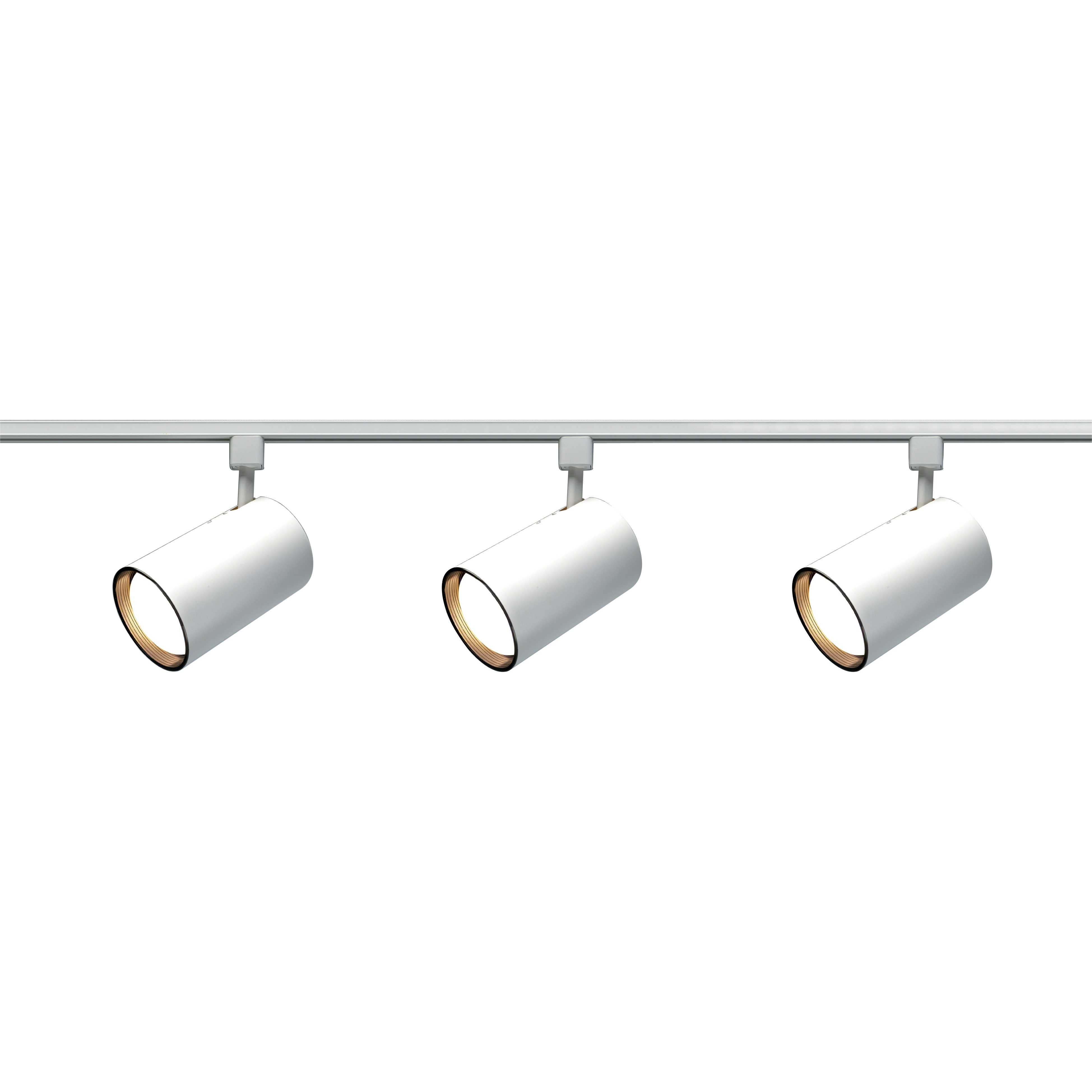 chic 3 Light R30 Straight Cylinder Track Lighting Kit by nuvo lighting for home lighting ideas