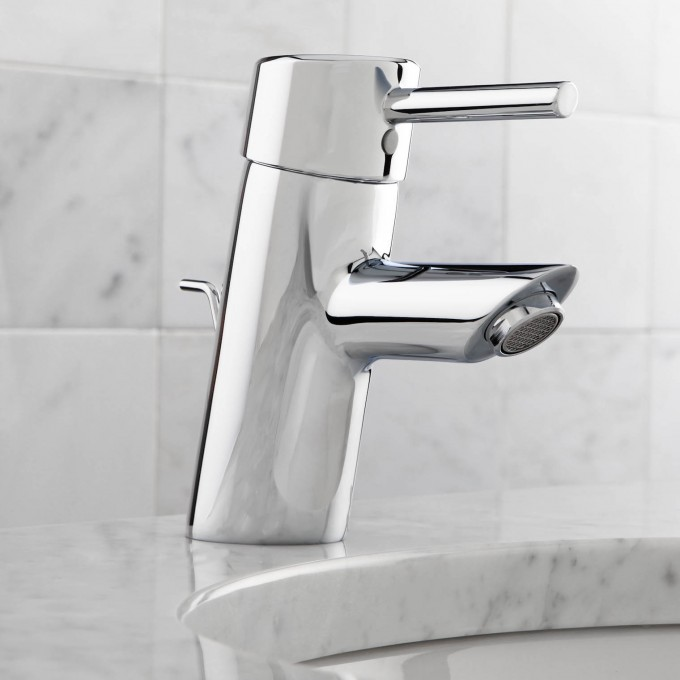 Chic 34 270001 Concetto Single Handle Centerset Bathroom Grohe Faucets For Bathroom Furniture Ideaws