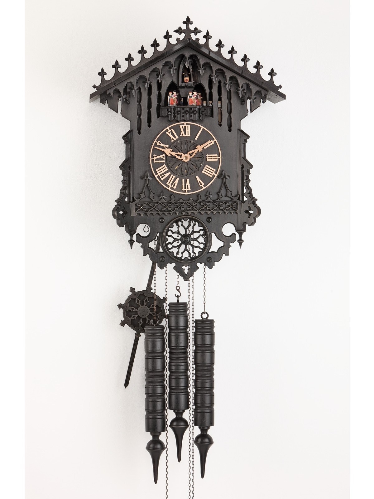 chic dark cuckoo clock in home design for home accessories ideas