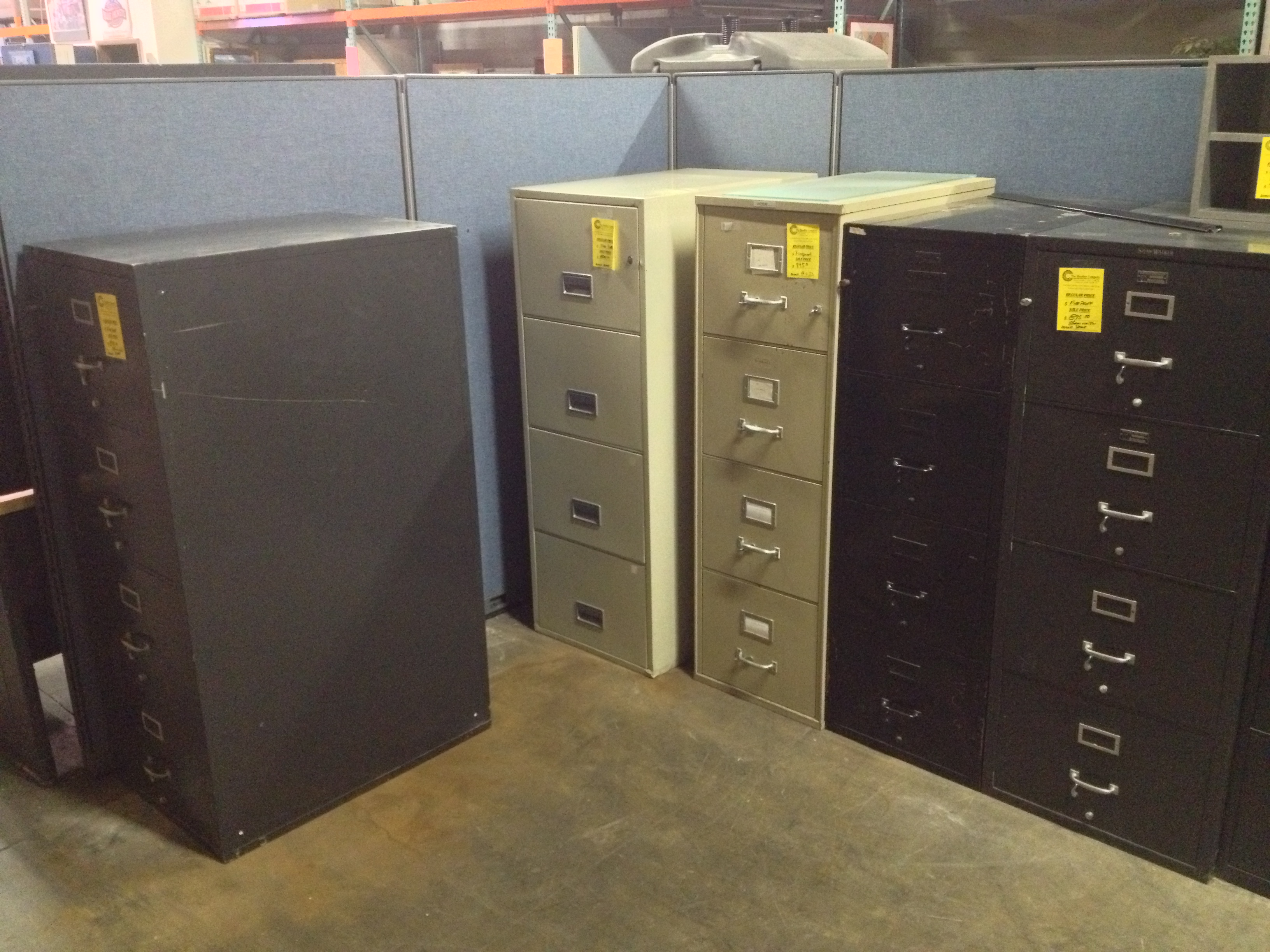 chic fireproof file cabinet for sale