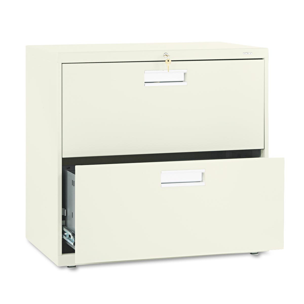 chic fireproof file cabinet in white with double drawers design for home office furniture ideas