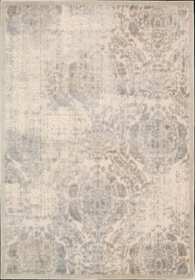 Chic Graphic Illusions Transitional Distress Antique Ivory Rug Design By Nourison Rugs For Floor Decor Ideas