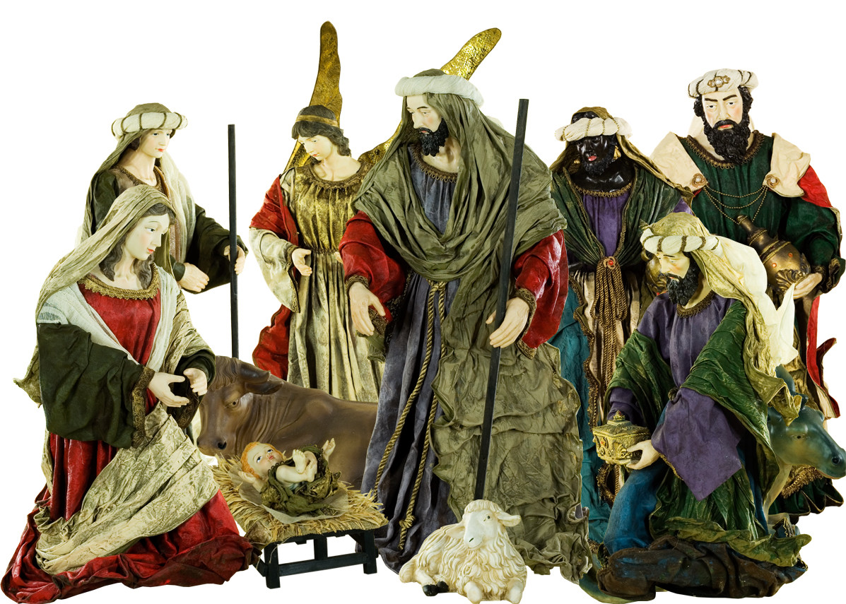 chic holy family nativity sets for christmas accessories ideas