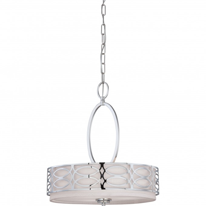 Chic Light Pendant Hanging Light Fixture In Polished By Nuvo Lighting For Home Lighting Ideas