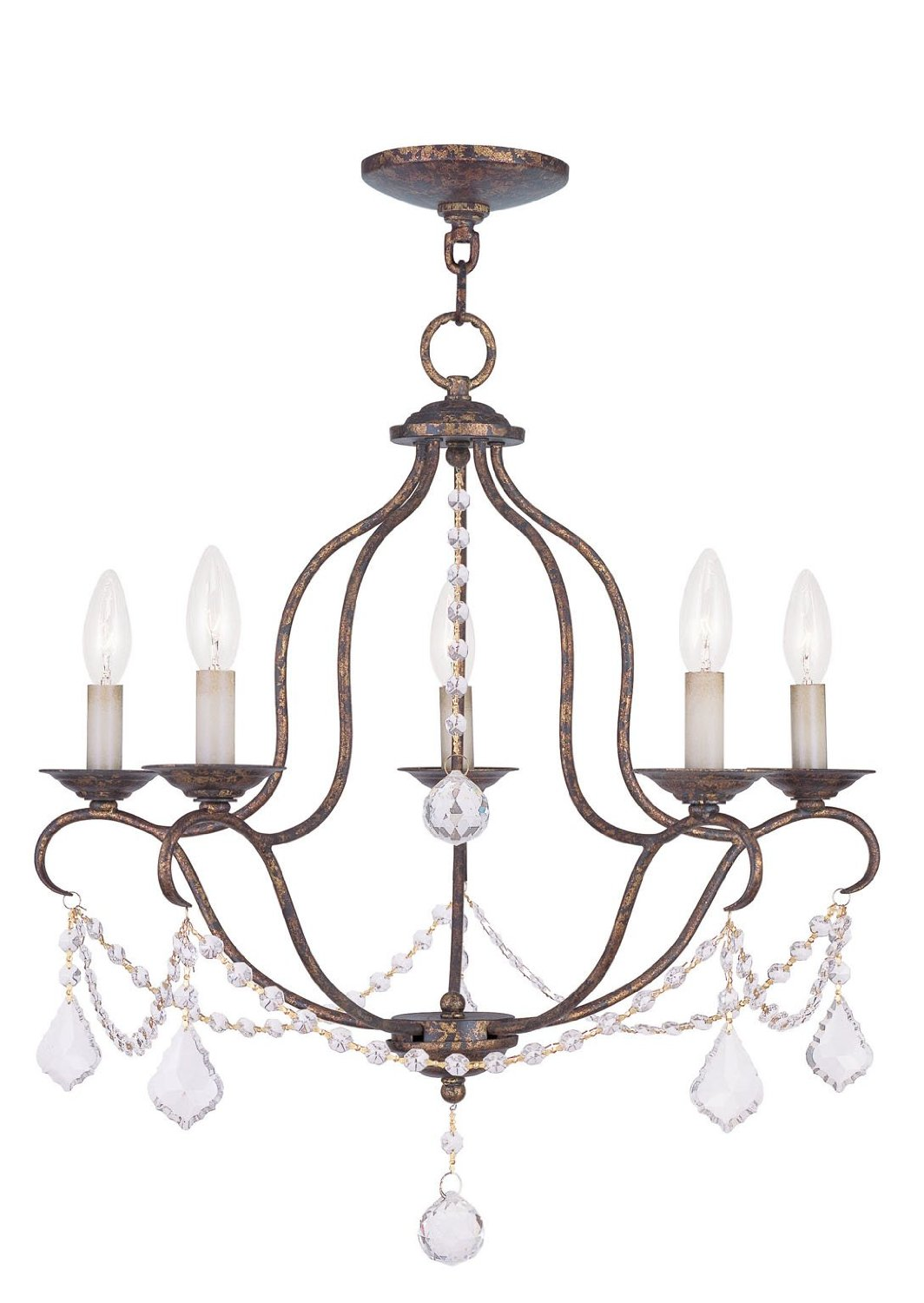 Chic Livex Lighting 6426 71 Chesterfield Chandelier For Home Lighting Ideas