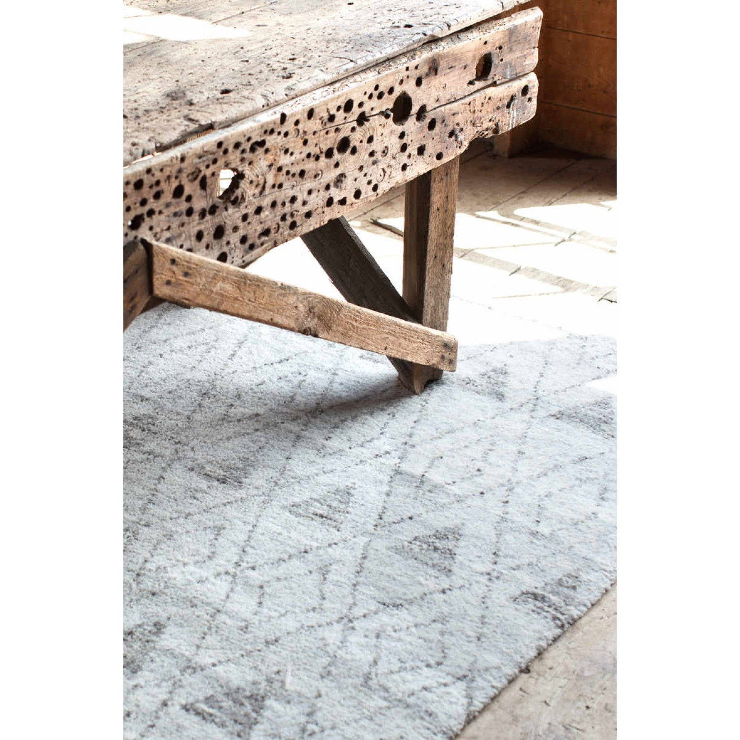 chic masinissa hand knotted rug by Dash And Albert Rugs for floor decor ideas