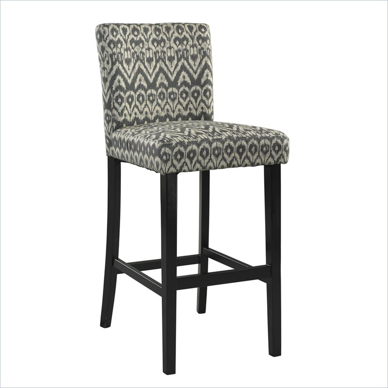 chic Morocco 24inch Counter Stool in Black by cymax bar stools for home furniture ideas