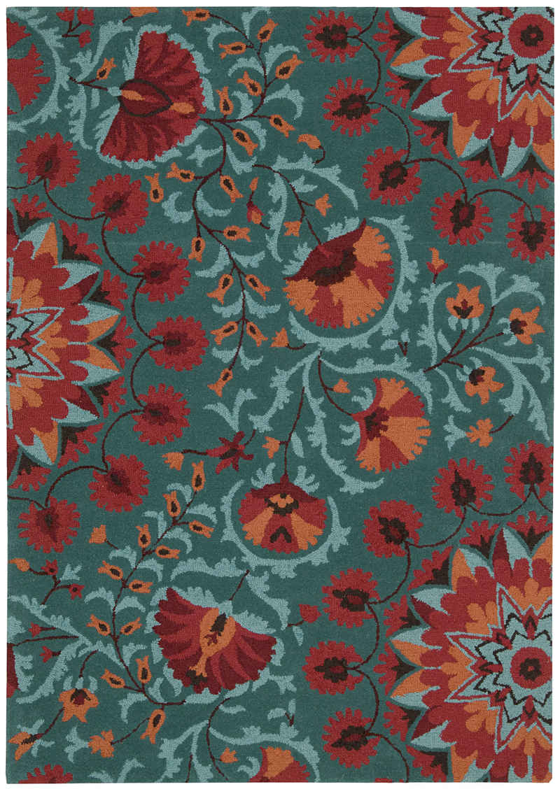 chic nourison rugs Nourison Suzani teal rectangle for floor decor ideas
