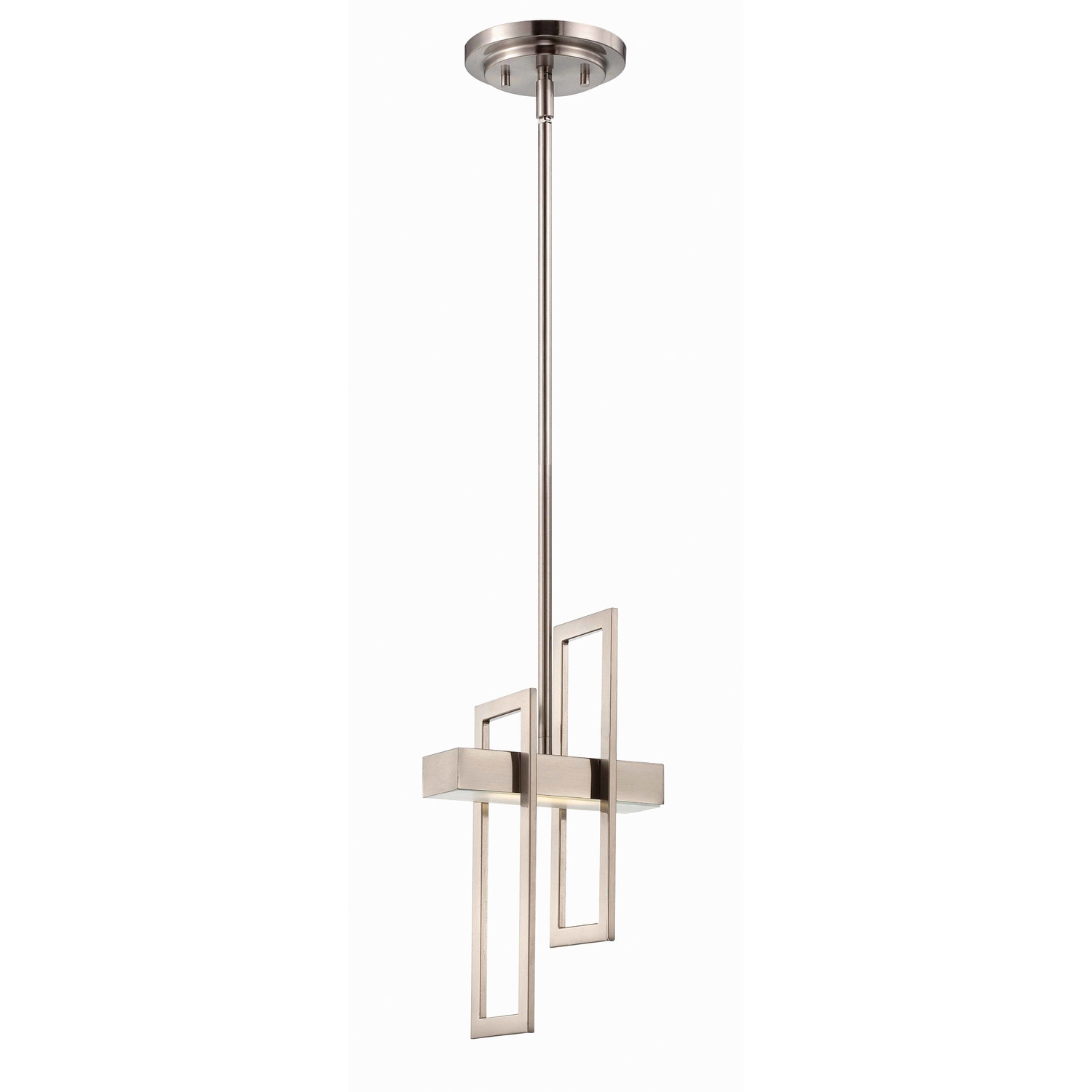 chic Nuvo Lighting Frame 1 Light Pendant for home lighting ideas