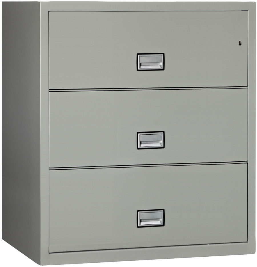 chic Phoenix Lateral 38 inch 3 Drawer Impact fireproof file cabinet for home office furniture ideas