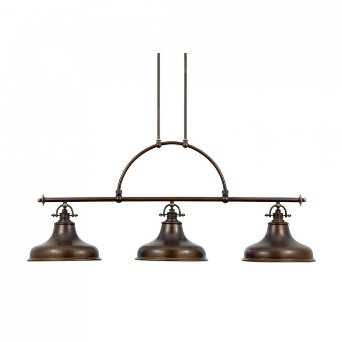 Chic Quoizel Nautical Island Pendant Light With Three Lights In Bronze Finish For Home Lighting Ideas