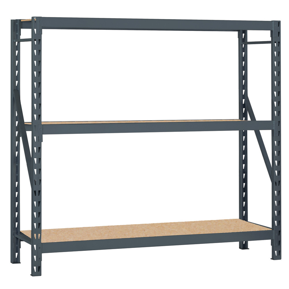 Chic Sandusky Bulk Storage Rack 3 Shelf Shelving By Edsal Shelving For Garage Furniture Ideas