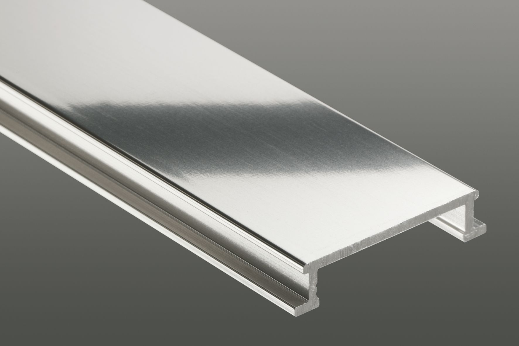 chic schluter strip Jolly ACG polished chrome anodised aluminum