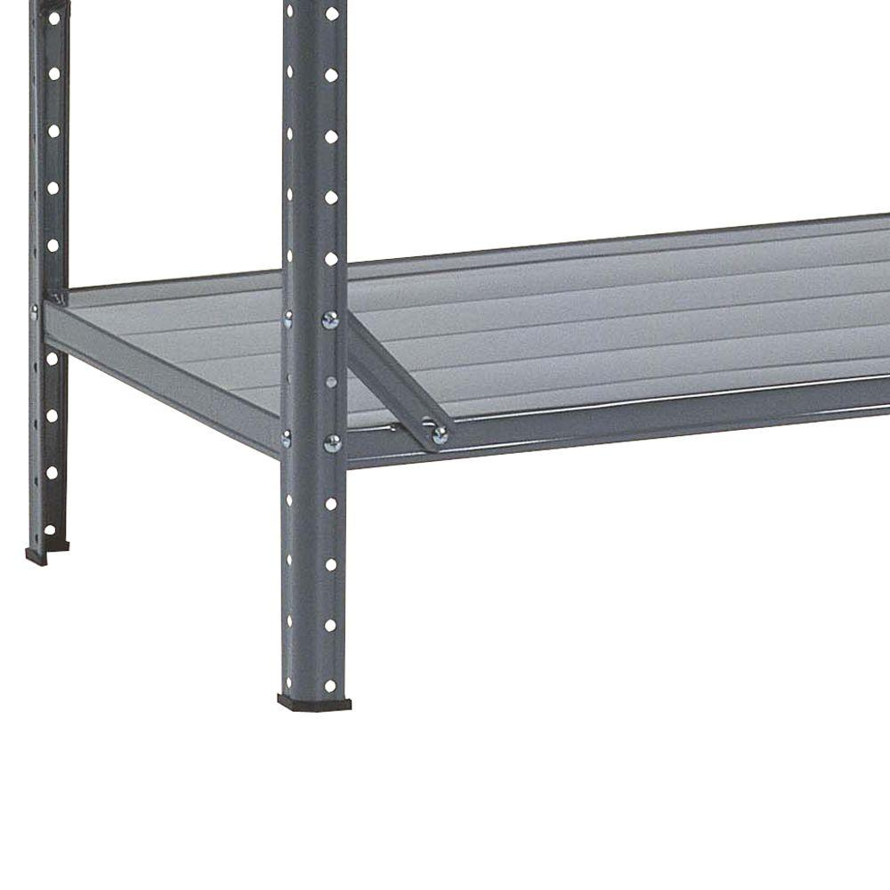chic Steel Canning Shelving Unit in gray by Edsal Shelving for garage furniture ideas