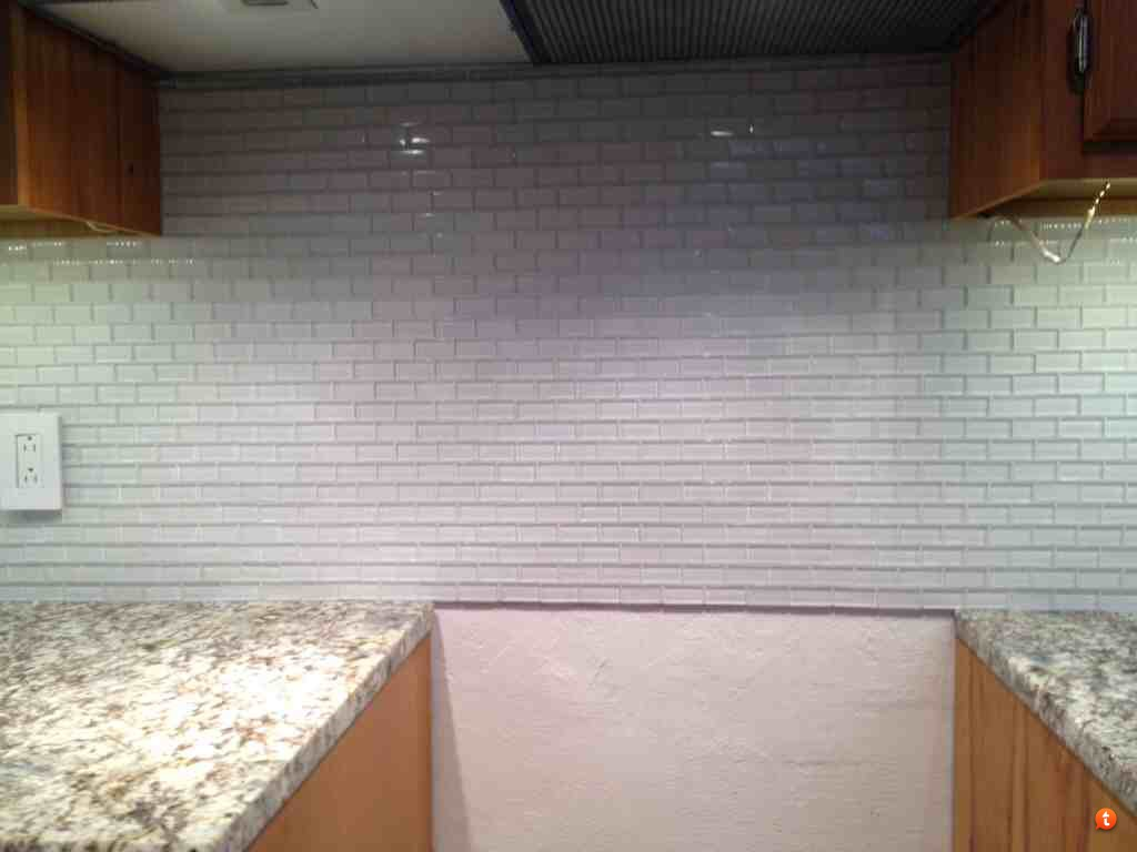 chic tile backsplash needs schluter strip to get prettier look