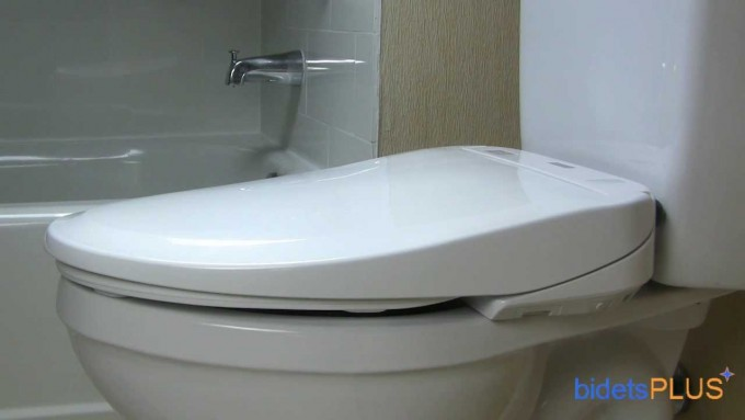 Chic White Toto Washlet Before The Bathup For Bathroom Decor Ideas